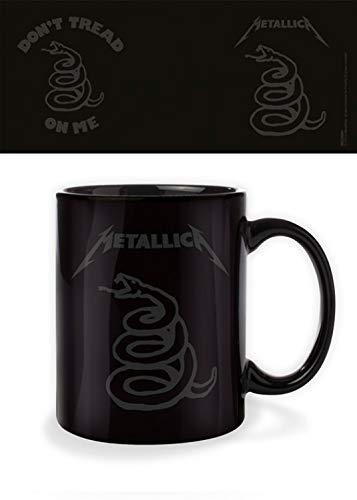 1art1 Metallica - Don't Tread On Me Taza Foto (9 x 8cm)