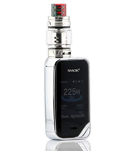 autentico SMOK X PRIV Kit da 225 W TFV12 Prince 8mL kit (Prism Chrome)