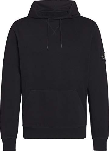 Calvin Klein Jeans Męska bluza z kapturem Monogram Sleeve Badge
