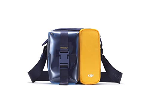 DJI Mini 2 Mini Bag - Bolsa Protectora de Transporte para DJI Mini 2, Bandolera, Funda - Azul/Amarillo