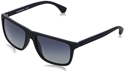 Gafas de sol Emporio Armani EA 4033 58644L Negro/Caucho Azul