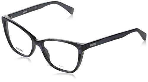 Moschino MOS550 SILVER BLACK 54/16/140 Eyewear Frame for Women