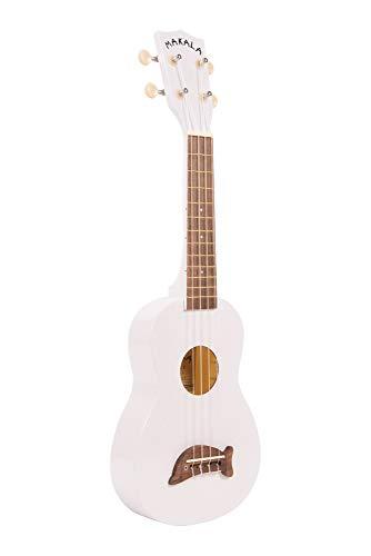 Kala MKSDBL - Ukelele, clavijero de engranajes, color blanco Perla