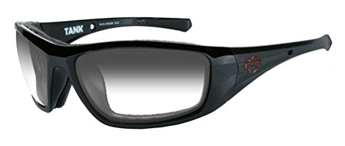 HARLEY-DAVIDSON Wiley X Tank LA Light Adjusting Copper Motorrad Brille (selbsttönend)