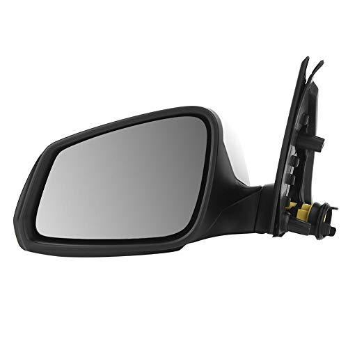 Espejo retrovisor: ensamblaje de espejo retrovisor de respaldo delantero izquierdo automático con plegado automático/calefacción/ajustes de memoria para accesorios de automóvil F18