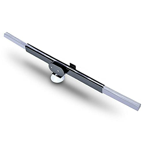 Haowen Parasol retráctil con Aislamiento térmico Adaptable Parabrisas con Ventosa Parasol Trasero Plateado con Ventosa 46cm