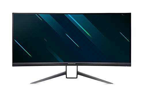 "89cm (35"") ZeroFrame Curved 1800R VA 21:9 WQHD 200Hz G-Sync Ultimate DisplayHDR 1000 Quantum Dot 100M:1 ACM 2ms HDMI DP MM USB 3.0 Hub Height Adj. Negro"