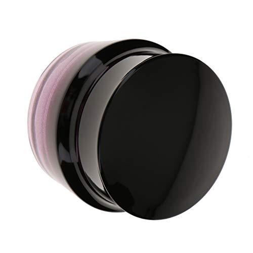 Perfeclan Pot Vide Verre Maquillage Crème Lotion Bouteille Cosmétique Recharge, Taille 30g/50g - 50 grammes