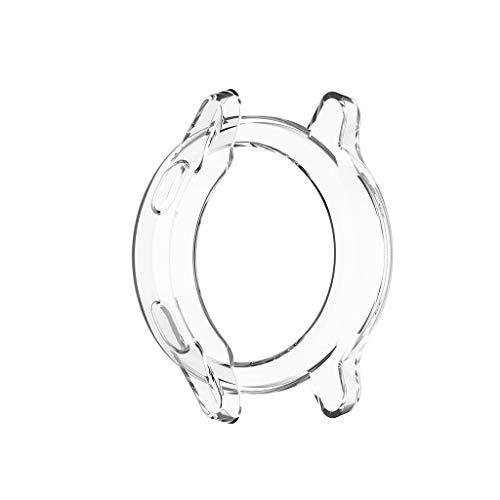 kdjsic Ultraslanke, doorzichtige TPU-beschermhoes voor horlogekast voor -garmin vivoactive 4S Active S Smart Watch…