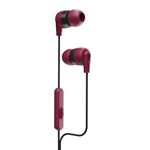 Skullcandy Ink'd Plus In-Ear Earbud - Deep Red