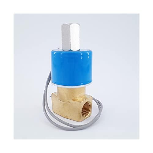 HLY Trading Válvula de solenoide de Agua de la Bobina de Cobre 2WAY 3WAY 2POSICION Position Tipo DE Cambio DE Alambre 1/4 3/8 Pulgadas (Specification : FB2E V 10, Voltage : 220V)