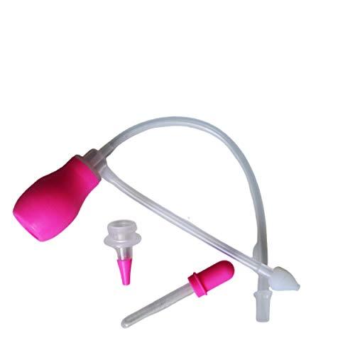 Aspirador nasal para bebé - Baby Fly - kit completo con bombilla, pipeta y tubo de succión - con 3 modos de uso - cómodo y desmontable - fácil de usar - limpieza rápida - sin BPA.