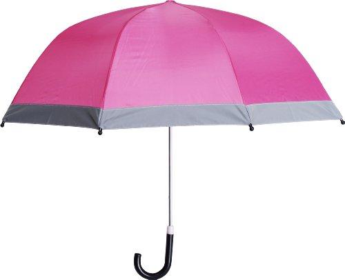 Playshoes Kinder-Unisex Reflektoren für mehr Sicherheit im Straßenverkehr, Circa 70 cm Regenschirm, Rosa (pink 18), Einheitsgröße