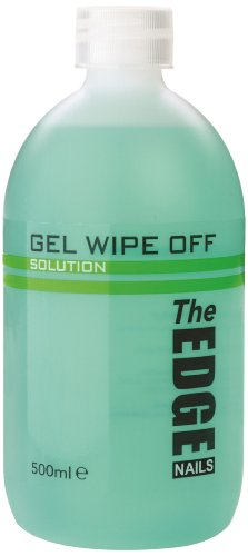 The Edge Nails Ultra Violet Gel Wipe Off Solution 500ml