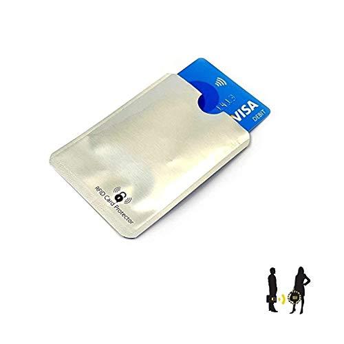 C63® Contactloze Creditcard Protector. Voorkomt dat uw gegevens worden gestolen. ID Veiligheidsblok Portemonnee