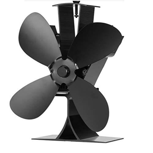 ventilador de estufa, YAOYAN 4 aspa del ventilador del horno de resistencia al calor de alta temperatura Desarrollado para la grabadora de registro de madera