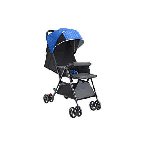 Find Bargain Queen Boutiques Aluminum Alloy Baby Stroller Lightweight Folding Portable Stroller Five...