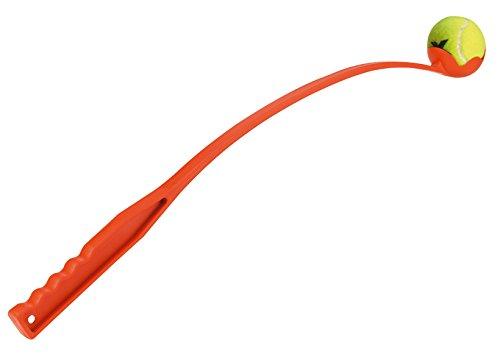 Kerbl Maxi Speed Weitwurfstab mit Tennisball 65cm