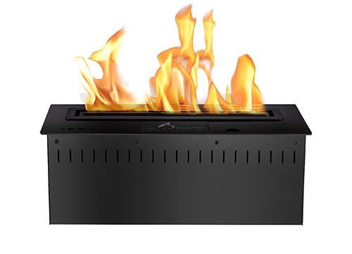 Fantastic Prices! Bio Flame 18� Rc Smart Burner 8,840 Btu - 11,300 Btu 3.3 Kw.H Black