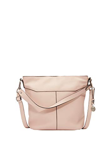 s.Oliver Damen Shoulder Bag in Leder-Optik beige 1