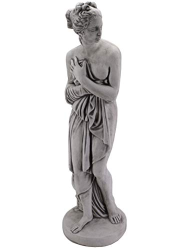 gartendekoparadies.de Große Massive Statue Pandora Steinfigur Gartenfigur aus Steinguss frostfest