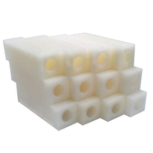 LTWHOME Compatible Cartouche Mousseux Filtration Convient pour Eheim 2012 Ramassage Filtres 2617120 (Paquet de 12)