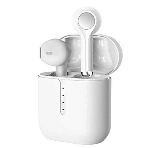 Auriculares Bluetooth 5.0, Auriculares inalámbricos, Caja de Carga incorporada, reducción de Ruido estéreo 3D, Adecuado para iPhone/Android/Airpods Pro/Samsung/Huawei Xiaomi