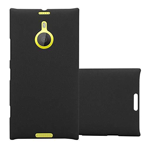 Cadorabo Hülle für Nokia Lumia 1520 in Frosty SCHWARZ – Hardcase Handyhülle aus Plastik gegen Kratzer & Stöße – Schutzhülle Bumper Ultra Slim Back Case Hard Cover
