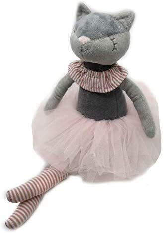 Gevulde dieren speelgoed Knuffels Kitty Cat Knuffels Ballerina Cat Doll Princess Cat Doll For Kids Fashion Ballet van de Prins Cat Girl Doll