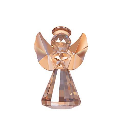 LONGWIN Figura de ángel de cristal decorativa adornos de cristal regalo coleccionable...