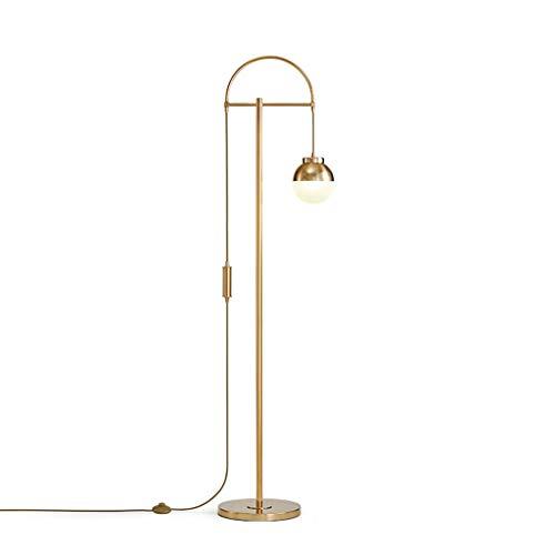 FYounLight Nordic Post-Moderne vloerlamp goud minimalistisch Iron Glass Ball Shade restaurant licht slaapkamer accessoires lichten