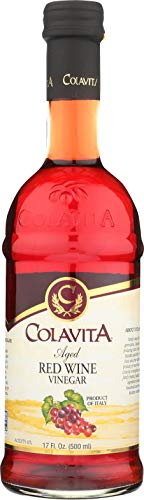 Colavita Aged Red Wine Vinegar, 17 oz, Glass Bottle