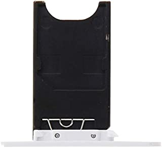 Practical Convenient Spare Parts Compatible with Nokia Lumia 800 SIM Card Tray Replacement Parts (Color : White)