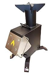 in budget affordable Bulletproof 50BMG Rocket Furnace Gasification Heater