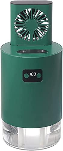 wsbdking Acondicionador de Aire portátil Hidden Fan, Mini Mini Mist de Niebla Frío Mist, Dormitorio Home Dormitorio Fondo para el Piso, Control Remoto Inteligente B (Color : A)