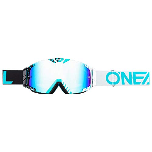 O'NEAL B30 Duplex Kinder Goggle MX DH Brille türkis/weiß/Radium Oneal