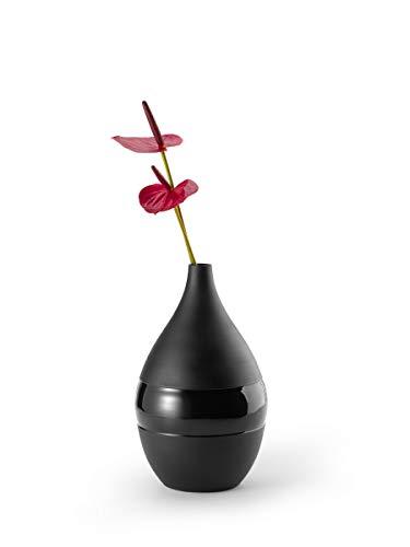 Philippi - NEGRETTO Vase L - schwarz - Design aus Hamburg - diese Vase ist Teil der NEGRETTO Serie von PHILIPPI