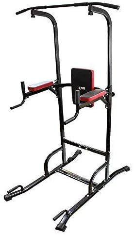 Xn8 Sports Power Tower Station de Musculation Barre de Traction réglable VKR Station ABS entraînement Genou Crunch Triceps Station, Silver: