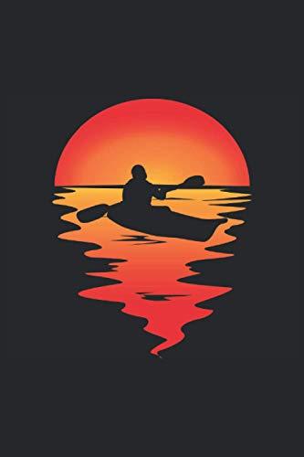Kalender 2021 - 2022 KAJAK KANU RAFTING PADDEL BOOT Wassersport im Sonnenuntergang mit KAYAK: 01.01.2021 - 31.12. 2022 Kalender A5 ( 6