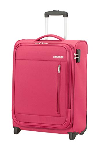 American Tourister Heat Wave - Upright S Hand Luggage, 55 cm, 42 Litre, Pink (Magenta)