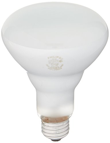 Philips B00X6S1RAA White 248872 Soft 65-Watt BR30 Indoor Flood Light Bulb, 12-Pack