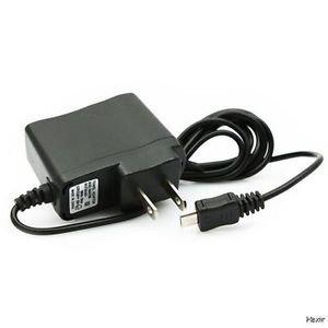 Wireless Solutions – Cargador de pared LED para BLU Studio View XL AC 110 V-240 V (negro)