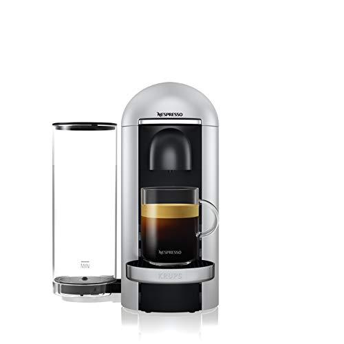 Nespresso Krups Machine Expresso Vertuo Plus Silver, Machine