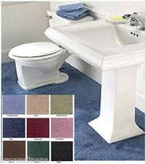 Madison Industries Reflections 5 x 6 feet  Olefin Pile Cut to Fit Wall to Wall Bathroom Carpeting, Sand