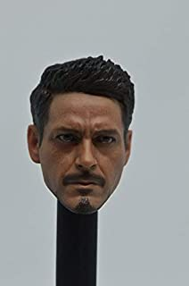 PUNIDAMAN Custom 1/6 Scale Tony Stark Man Sculpt for Hot Toys Body U Must Have 4 Year Old Girl Gifts Girl S Favourite Superhero Coloring Unboxing Box