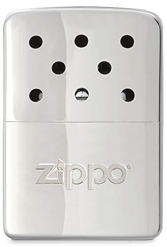 Zippo Unisex– Erwachsene Hand Warmer High Polish Chrome-Little Pocket-Sized-6 Hours Art-Nr.: 60.001.661-Suggested Retail: Euro 39,95 Handwärmer, 6h