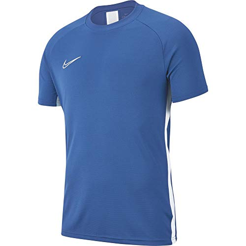 Nike Academy19 Training Top Maillot Homme, Marina/White, FR : M (Taille Fabricant : M)