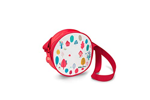 LILLIPUTIENS 84423 Handtasche Umhängetasche für Kinder Rotkäppchen, 18x6 cm
