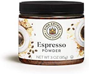 King Arthur, Espresso Powder, Certified Kosher, Reusable Plastic Jar, 3 Ounces