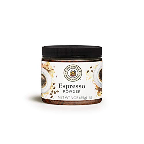 King Arthur, Espresso Powder, Certified Kosher, Reusable Plastic Jar, 3 Ounces (Pack of 2)